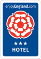 Visit England 3 star hotel rating