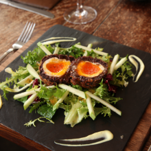 Black Pudding Scotch Egg
